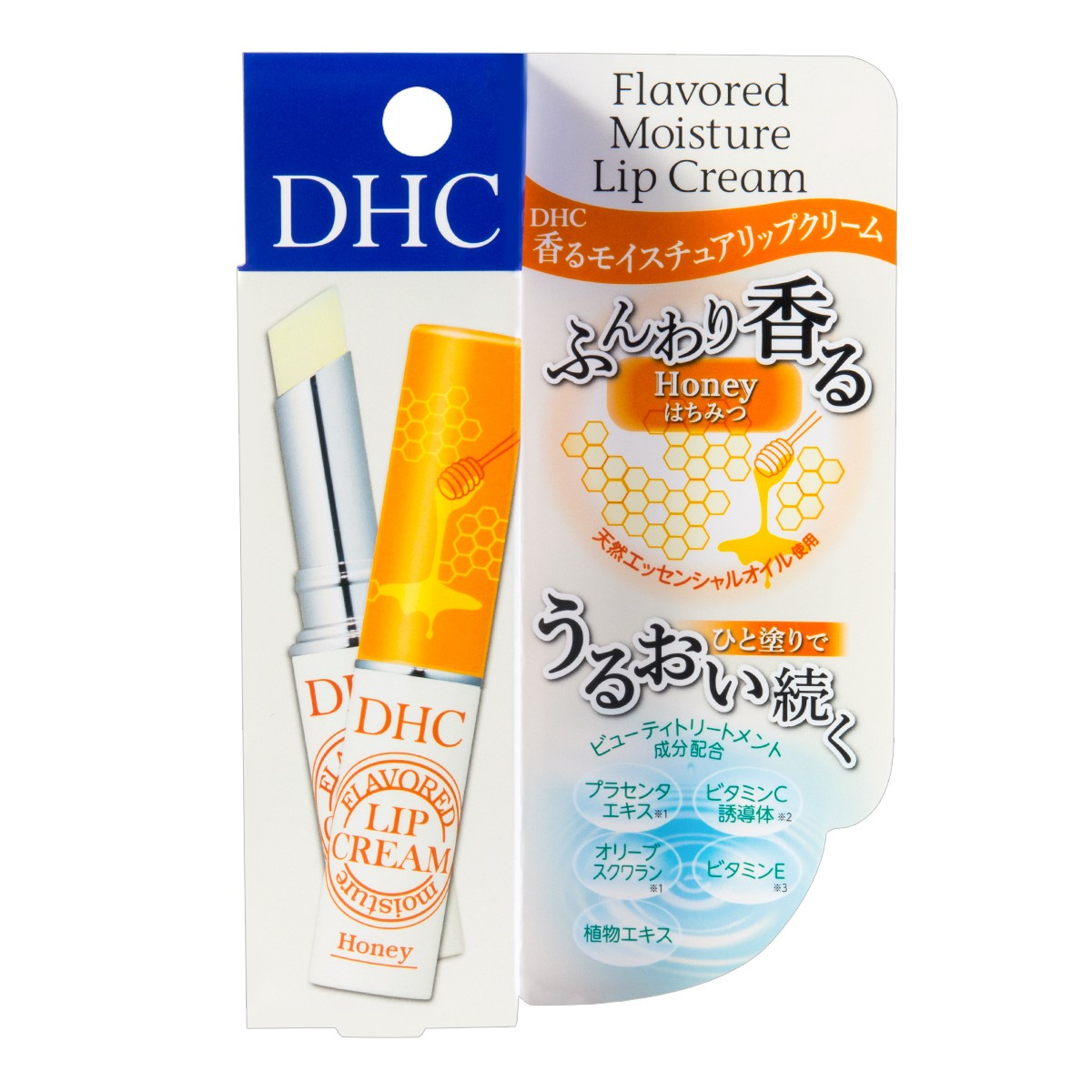 DHC flavored moisture lip cream honey 1.5g