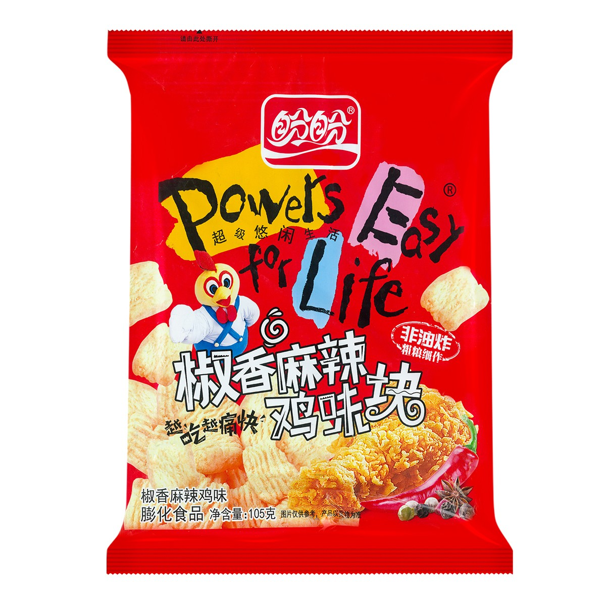PANPAN Wheat Crunch Sichuan Pepper Flavor 150g