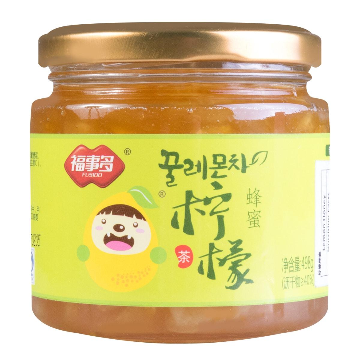 福事多 韩国风味 蜂蜜柠檬茶 498g