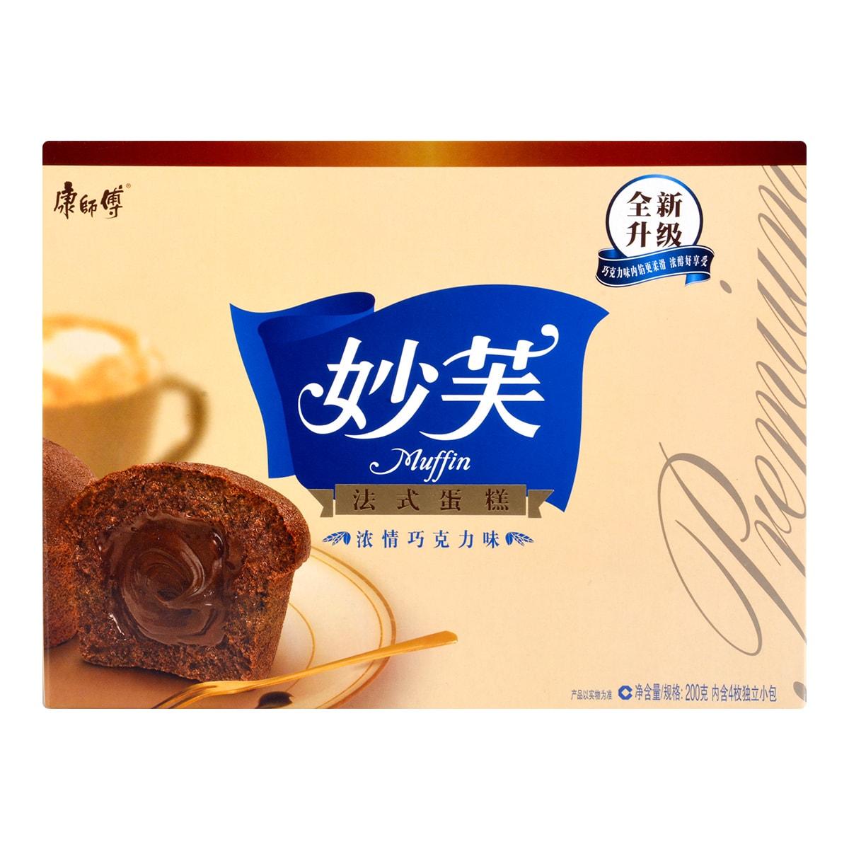 康师傅 妙芙法式蛋糕 浓情巧克力味 200g