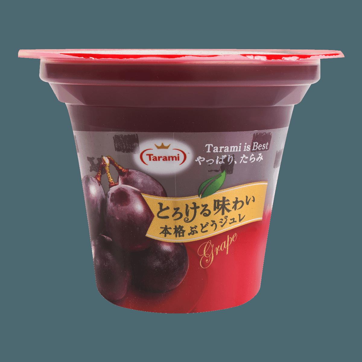 日本TARAMI 味系列 葡萄果肉果冻 210g