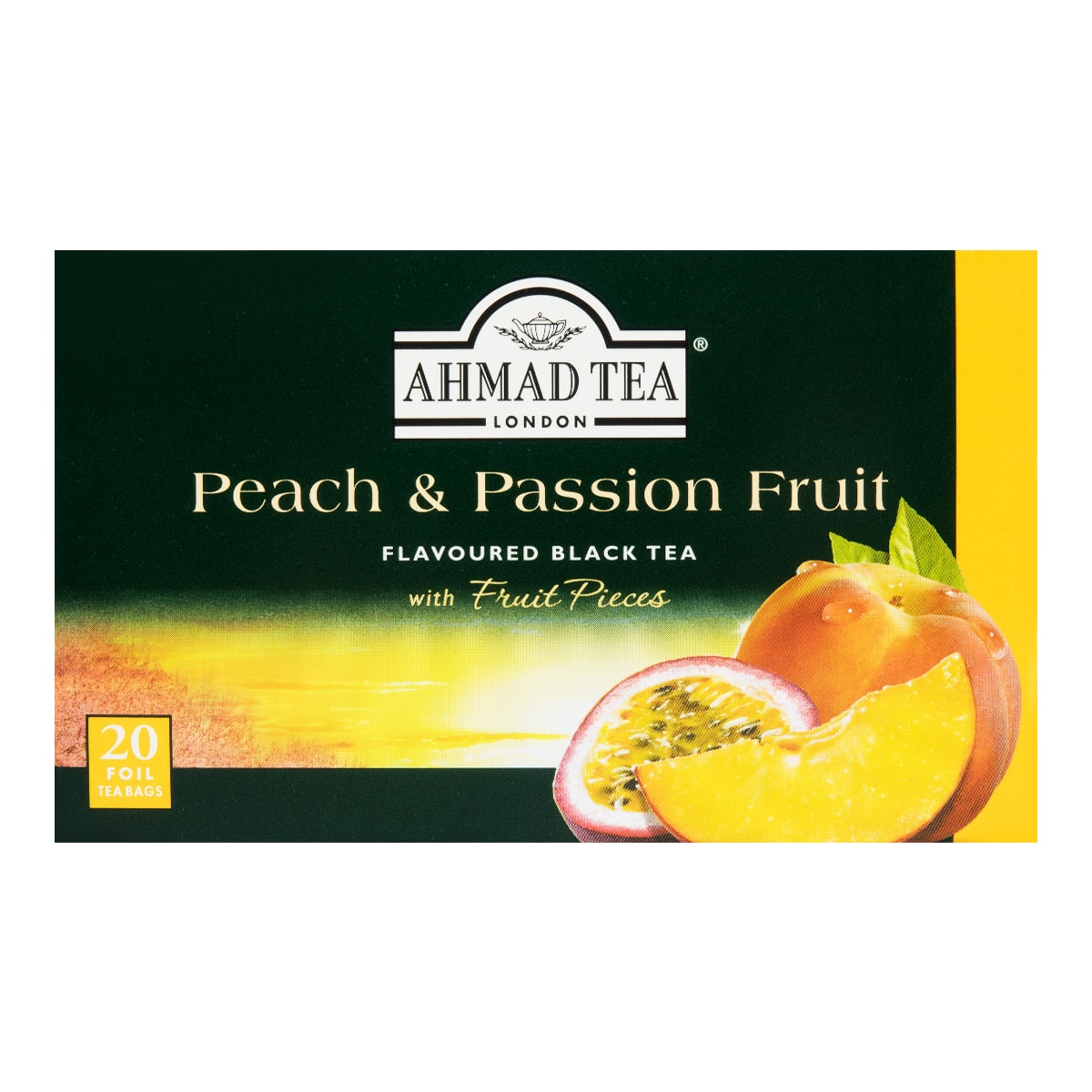 AHMAD TEA Peach and Passion Fruit Tea 20bags