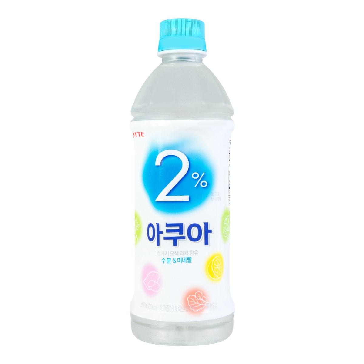 LOTTE 2% Aqua 500ml