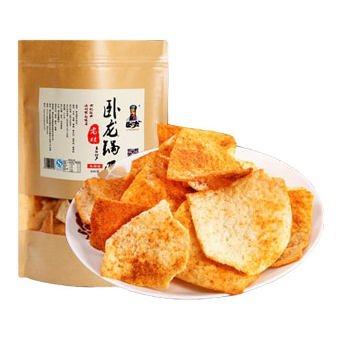 WOLONG Rice Crust Spicy 400g