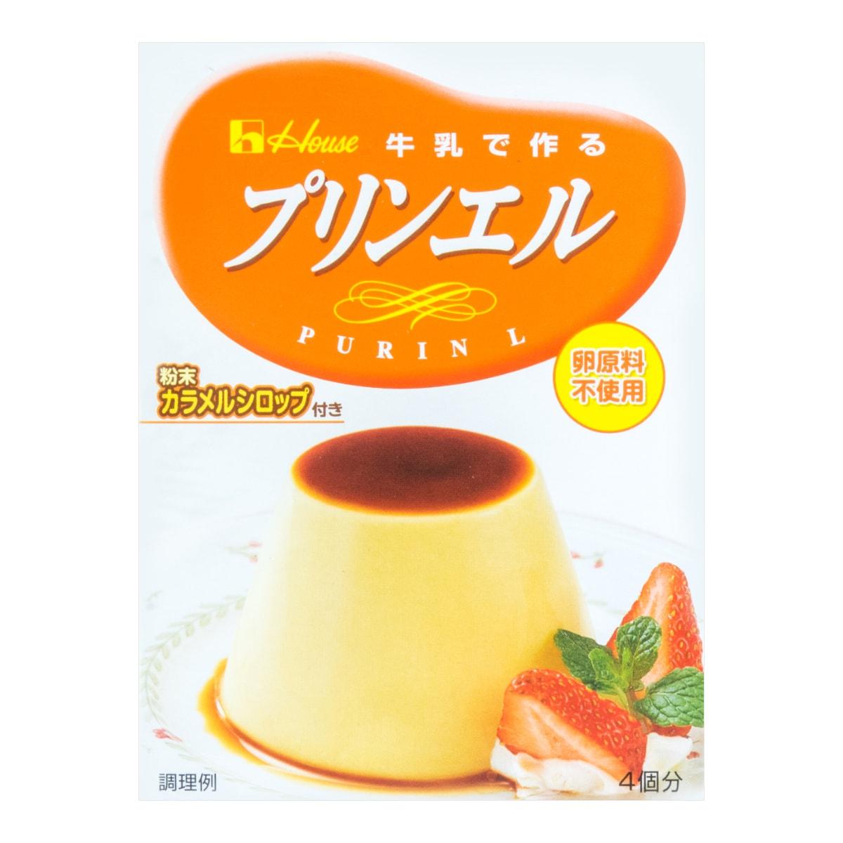 日本HOUSE DIY牛奶焦糖布丁粉 牛奶味 4份装 60g
