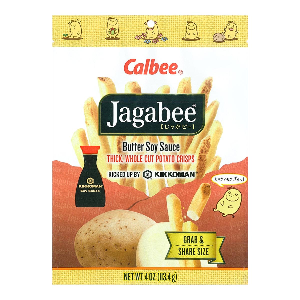 CALBEE Jagabee Buttery Soy Sauce Potato Sticks 113.4g