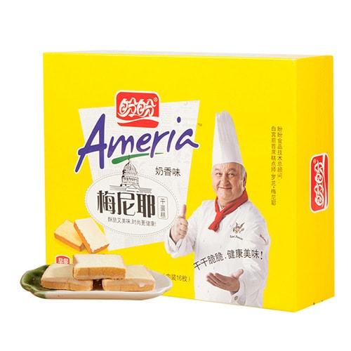 盼盼 梅尼耶干蛋糕 奶香味 160g