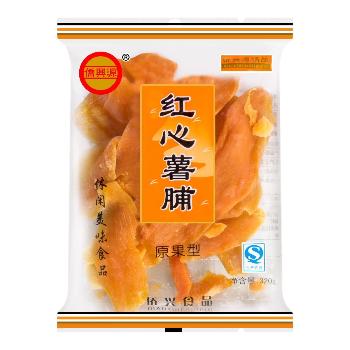 QAIOXING Dried Sweet Potato 320g