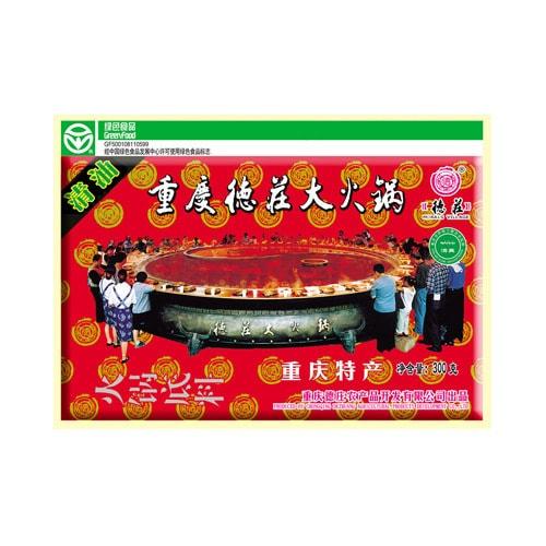 重庆德庄 经典川味清油火锅底料300g
