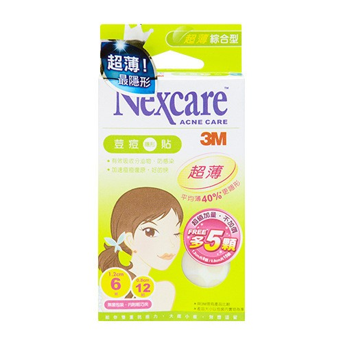 3M NEXCARE Ultra Thin Pimple Sticker 2 Size Mix pack 23 Pieces