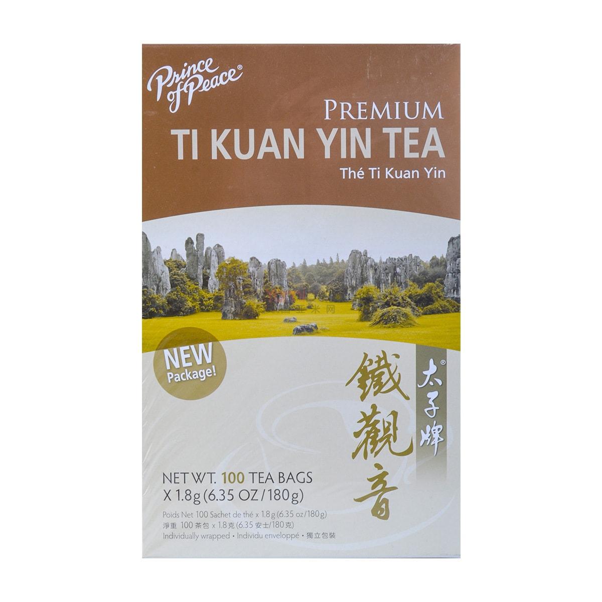 PRINCE OF PEACE Premium Ti Kuan Yin Tea 100 Bags 180g