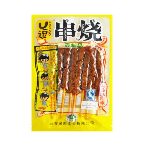 KOU SHOW You Do Bean Curd String Artifical Chicken Flavor 70g