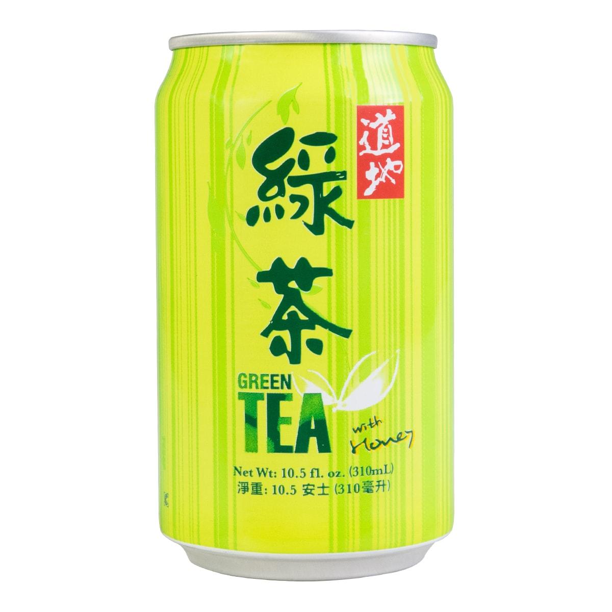 台湾道地 蜂蜜绿茶 310ml