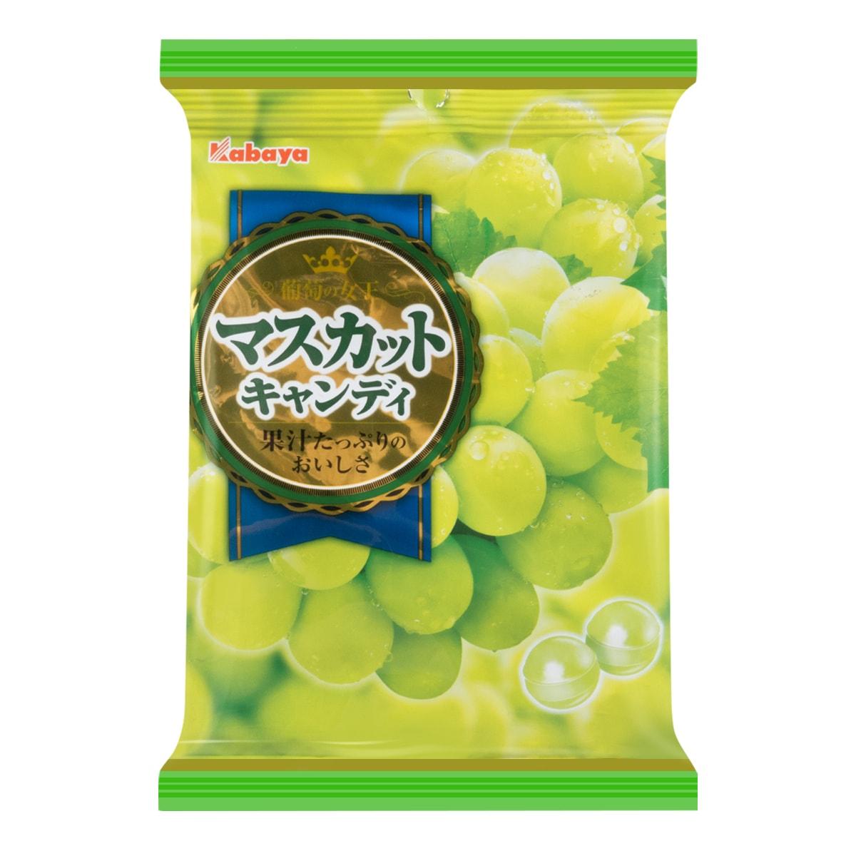 日本KABAYA 青葡萄水果硬糖 94g