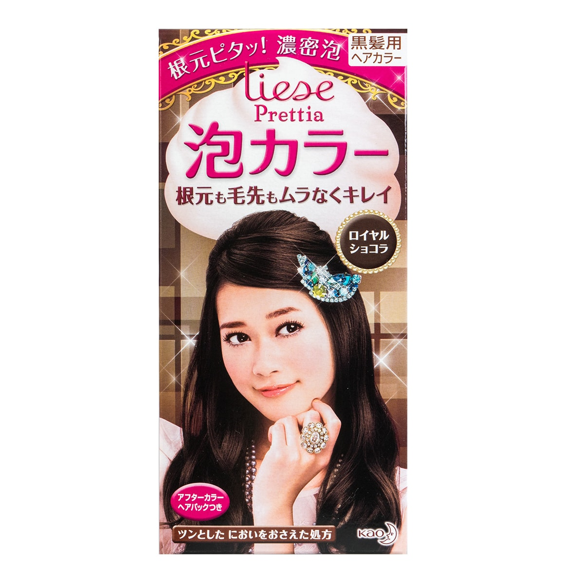 KAO LIESE PRETTIA Bubble Hair Dye Classic Chocolate 1set