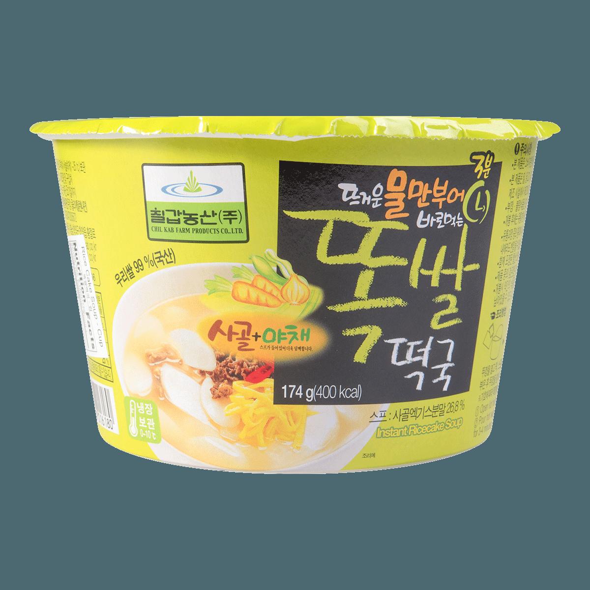 韩国CHILKAB 牛骨年糕汤 碗装 174g