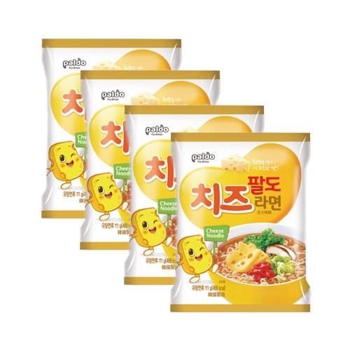 韩国PALDO八道 趣味起司辣面 4包入