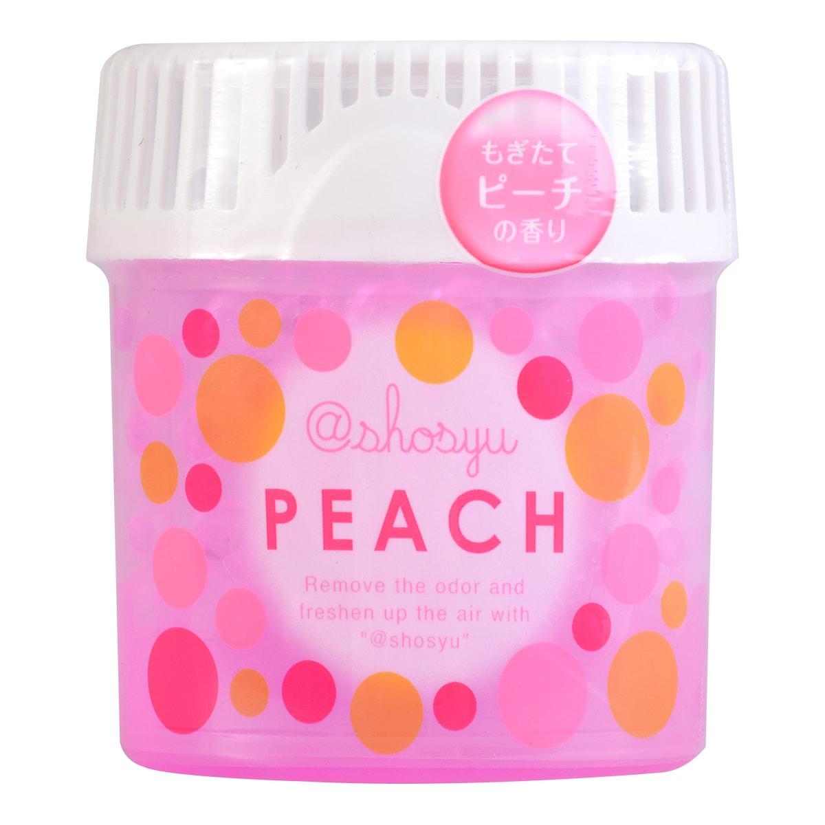 日本KOKUBO小久保 SHOSYU空气清新消臭圆 甜蜜水蜜桃 150g