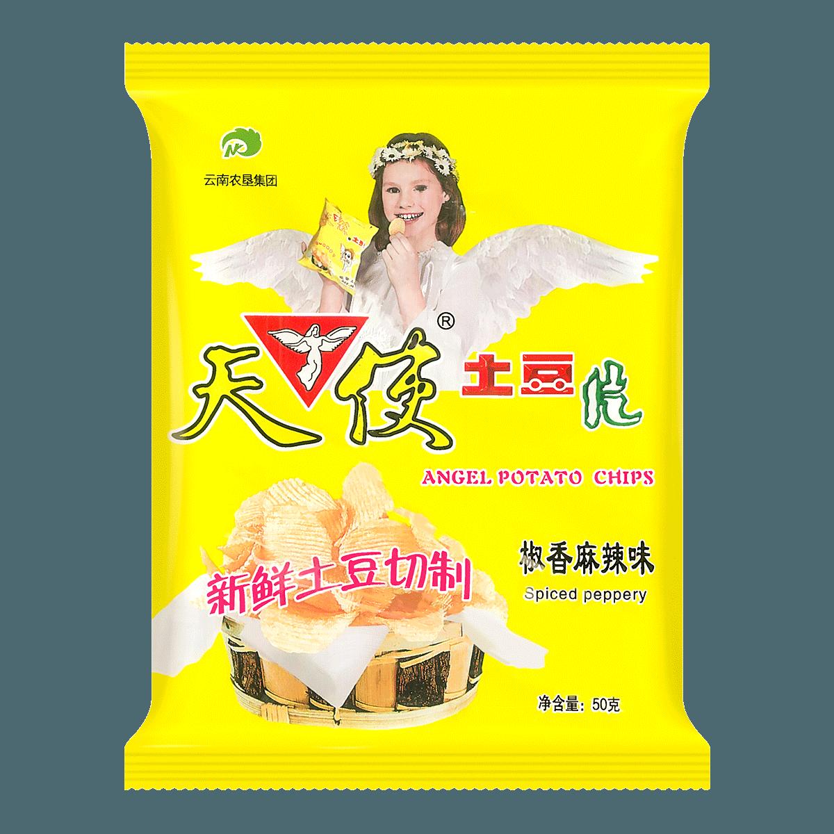 天使 土豆片 椒香麻辣味 50g