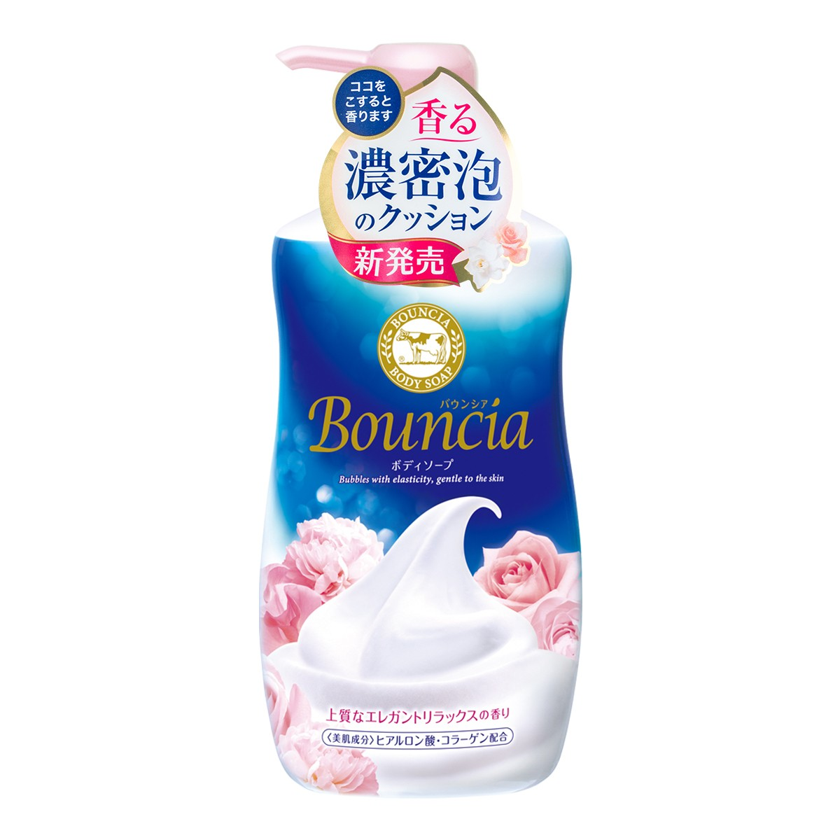 COW Bouncia Rose Body Soap 550ml