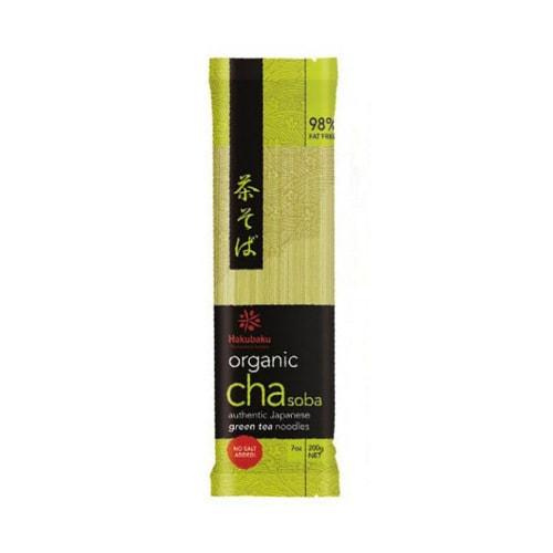日本HAKUBAKU 有机抹茶荞麦干面 200g