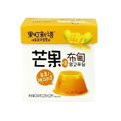 CLVERMAMA Mango Jelly 264g(22g x 12cups)