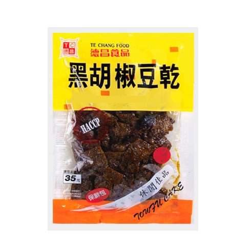 TECHANG FOOD Tofu Cake Black Pepper Flavor 115g