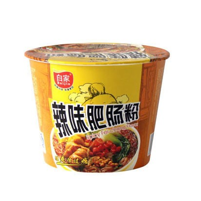白家陈记 红薯方便粉丝 辣味肥肠味 桶装 108g