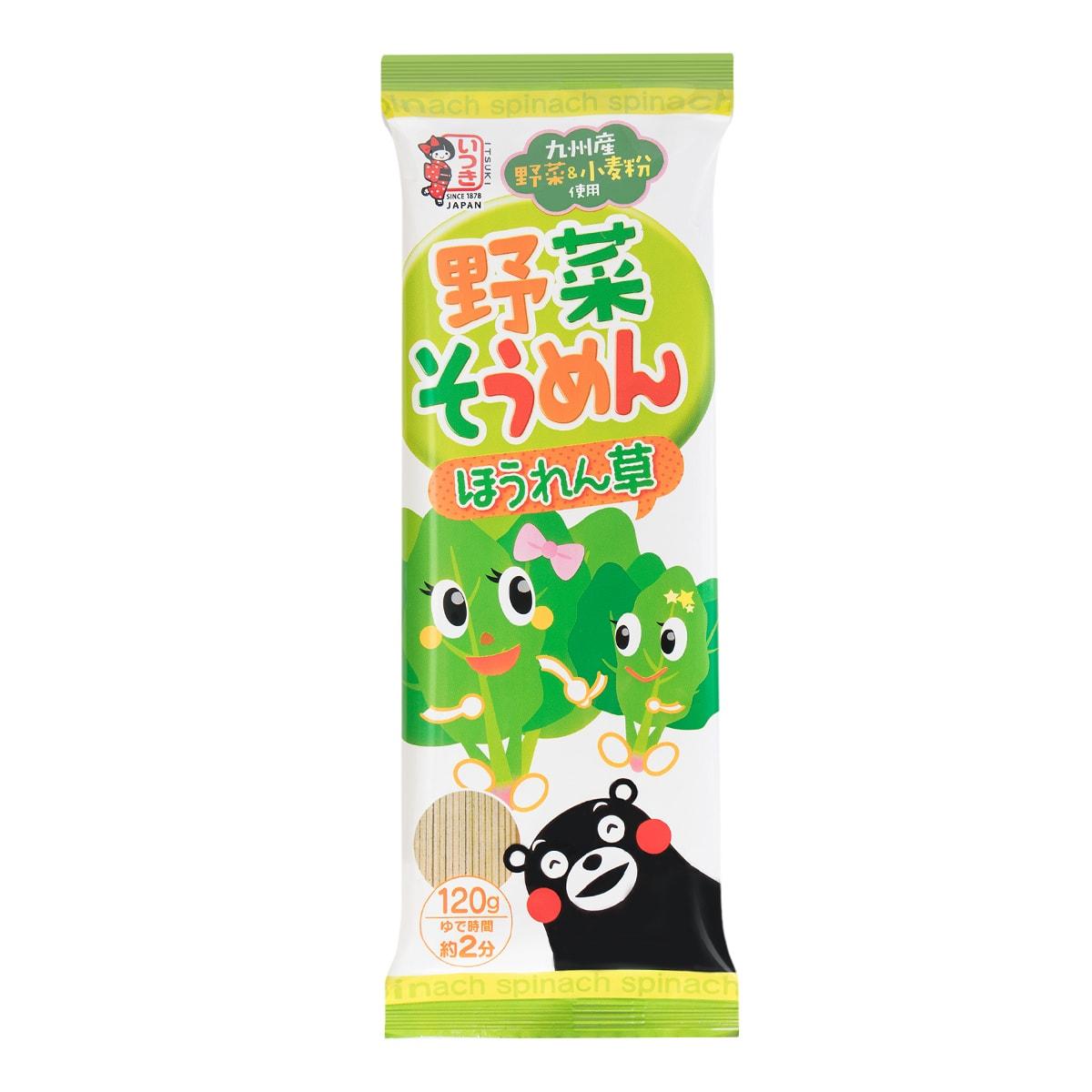 日本ITSUKI五木 日式蔬菜小麦面 120g