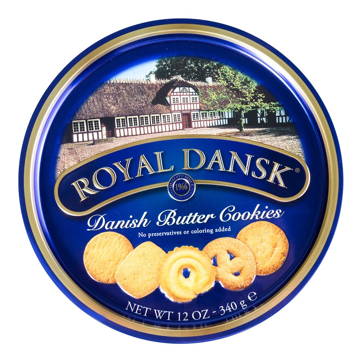 丹麦ROYAL DANSK 皇家香浓牛油曲奇 340g