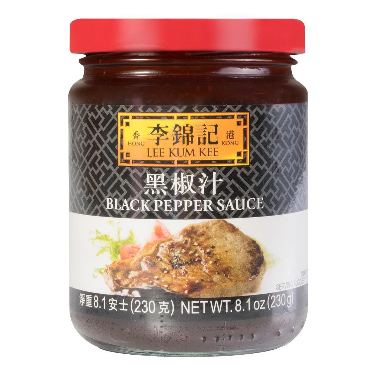 香港李锦记 黑椒汁 230g