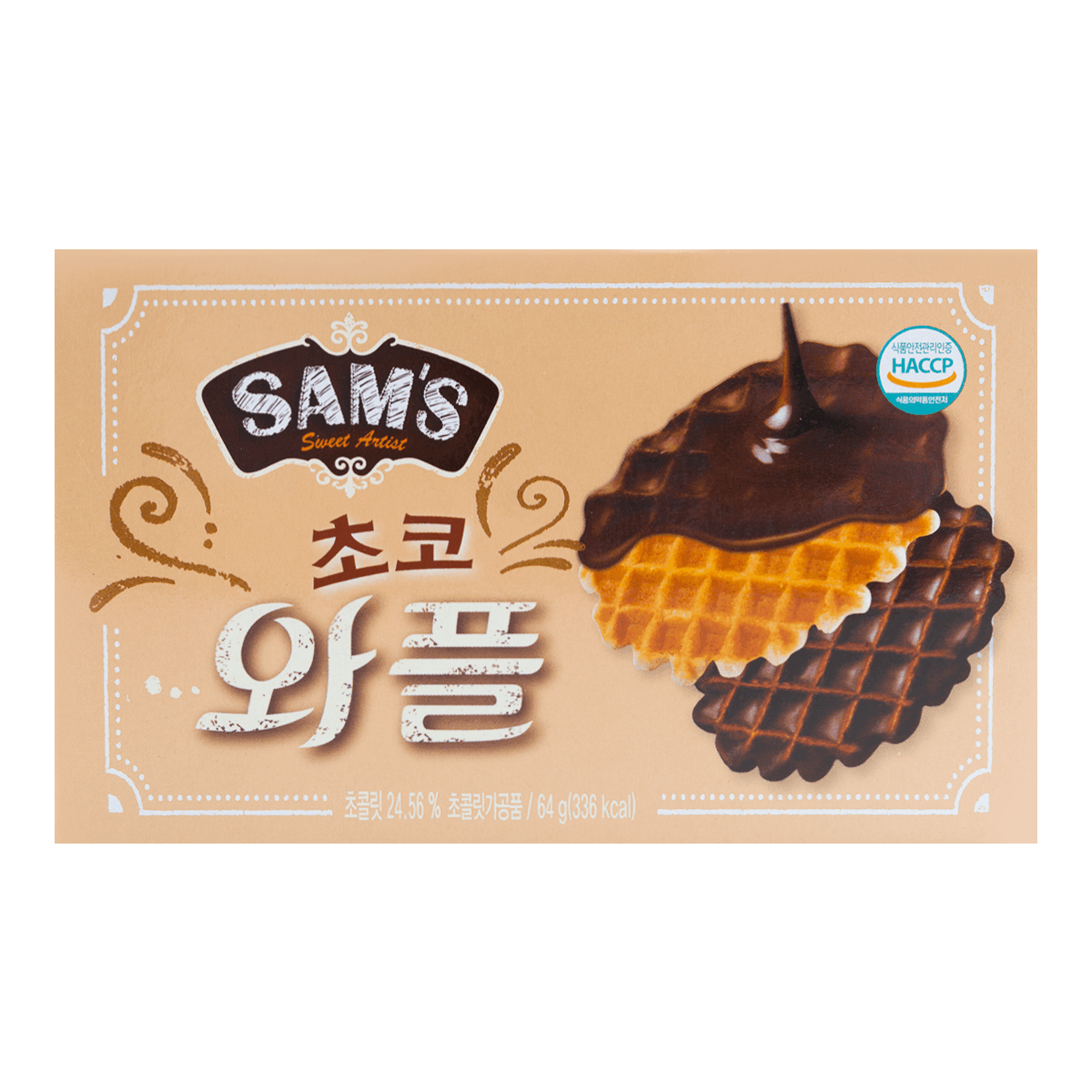 Choco Waffle Biscuit 64g