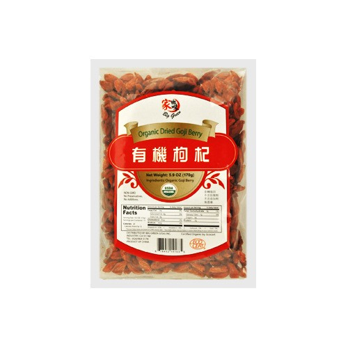BIG GREEN Orginic Dried Goji Berry 170g