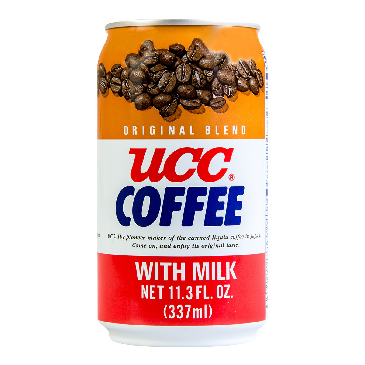 UCC Original Blend Coffee with Milk Can 337ml