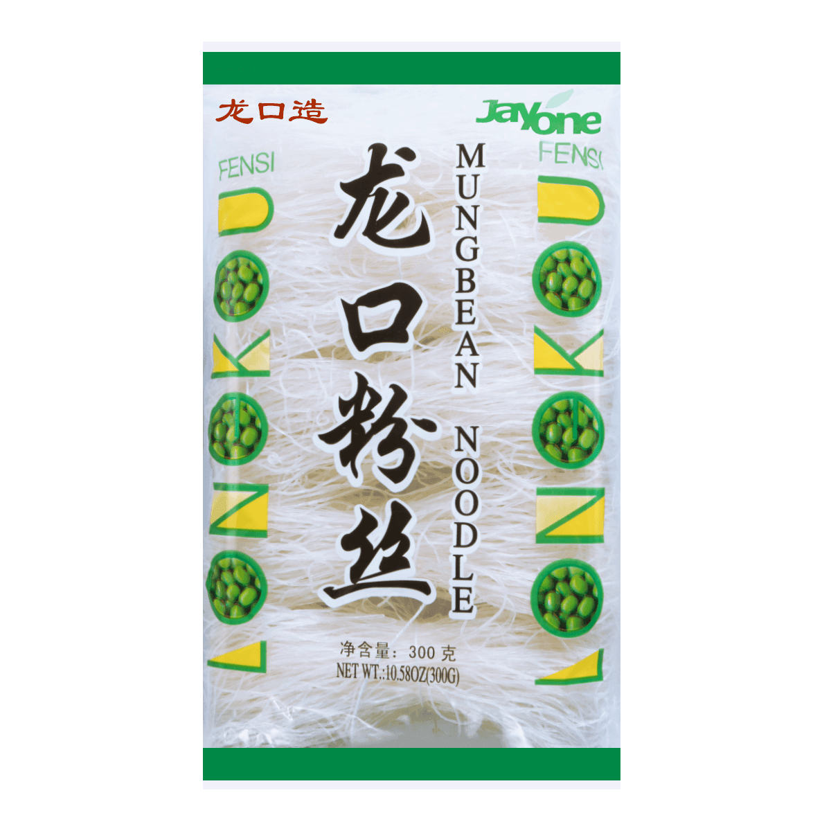 JAYONE Dried Glass Noodle Mung Bean 300g