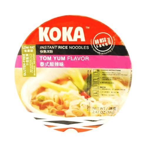新加坡KOKA 快熟河粉 泰式酸辣味 70g