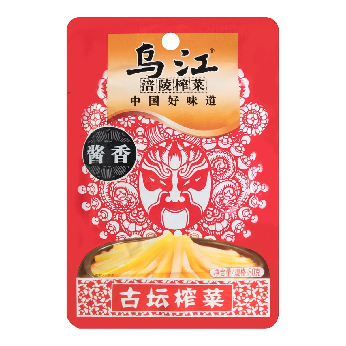 乌江涪陵榨菜 酱香古坛榨菜 80g
