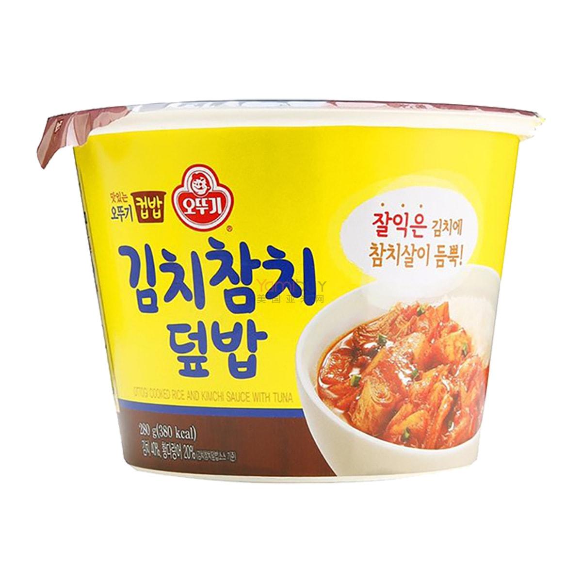 韩国OTTOGI不倒翁 金枪鱼泡菜韩式拌饭 280g