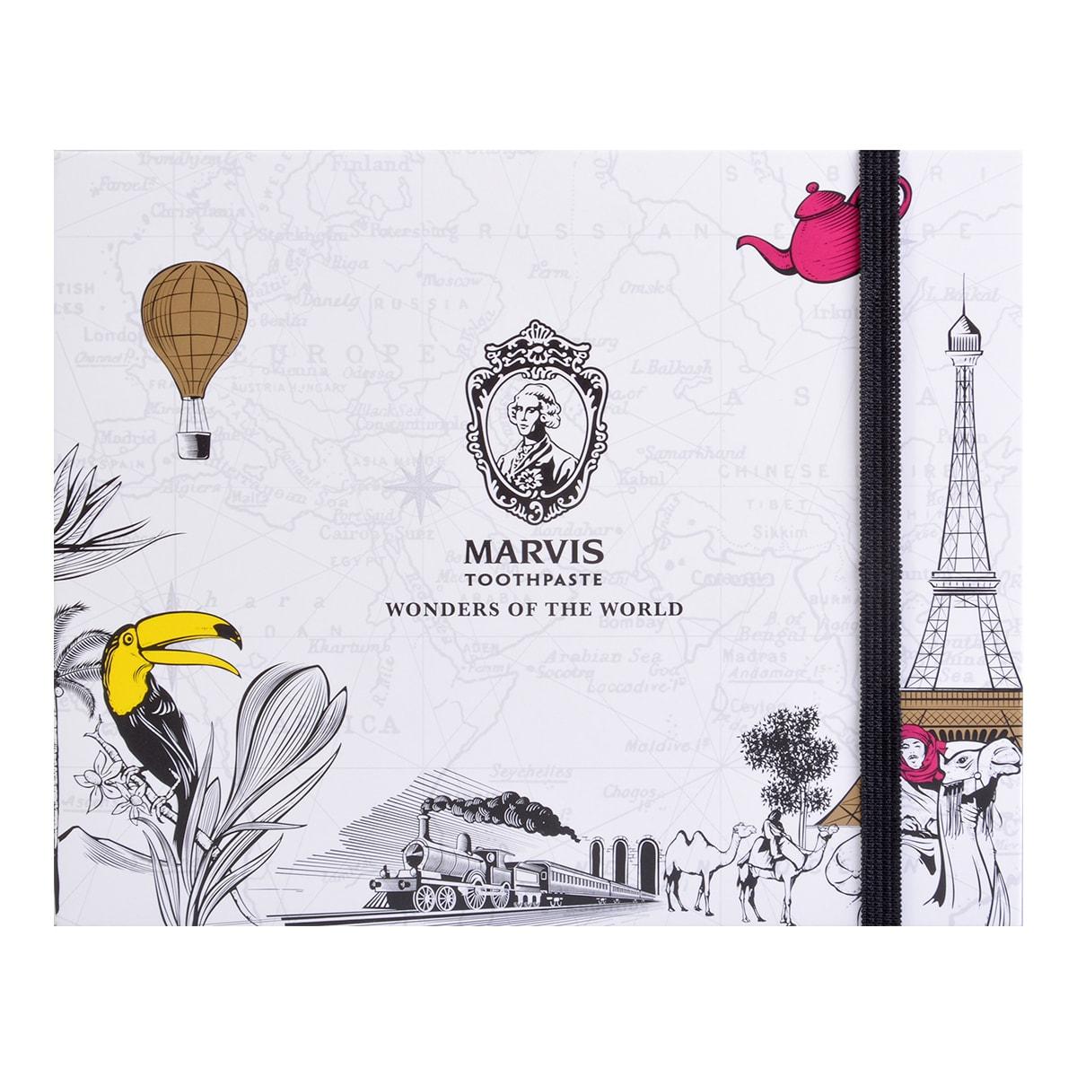 意大利MARVIS玛尔斯 世界奇观主题限量成人牙膏 3件套组 25ml*3