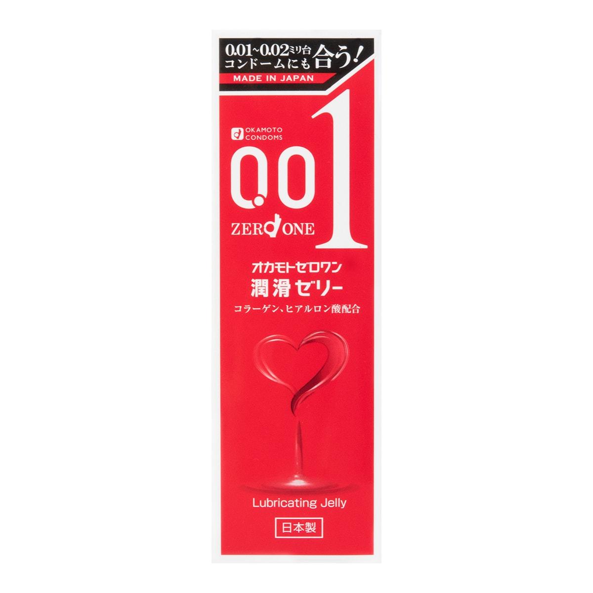 成人用品 日本OKAMOTO冈本 001透明酸质水溶性润滑液 50g