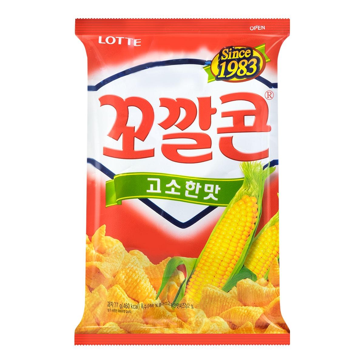 LOTTE Original Flavor Corn Snack 72g