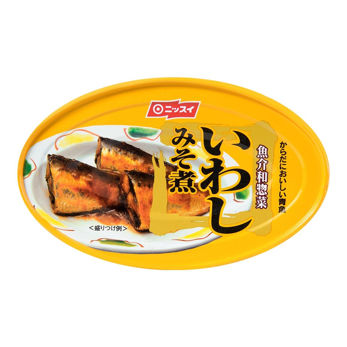 日本NISSUI 味增调味沙丁鱼罐头 100g
