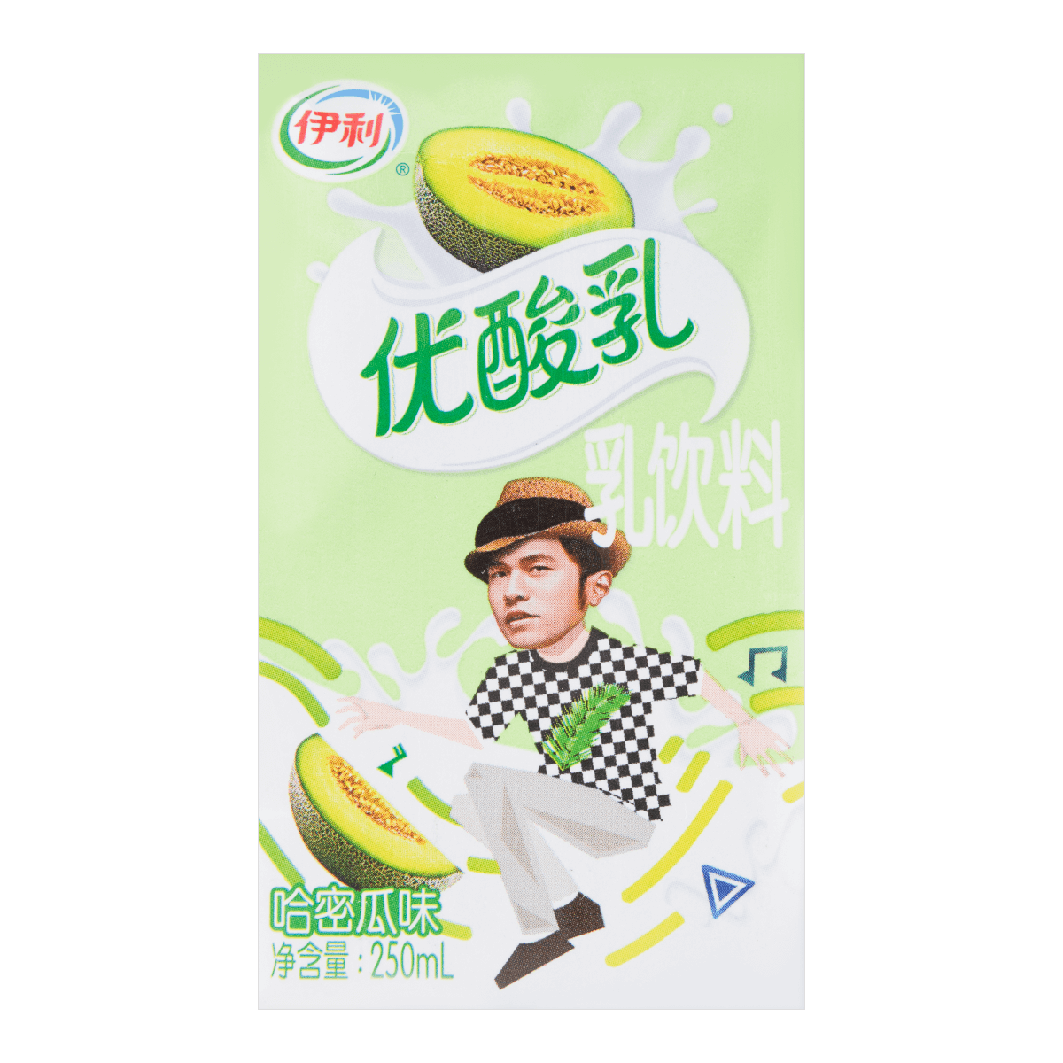 Yili Yogurt-cantaloupe  250ml