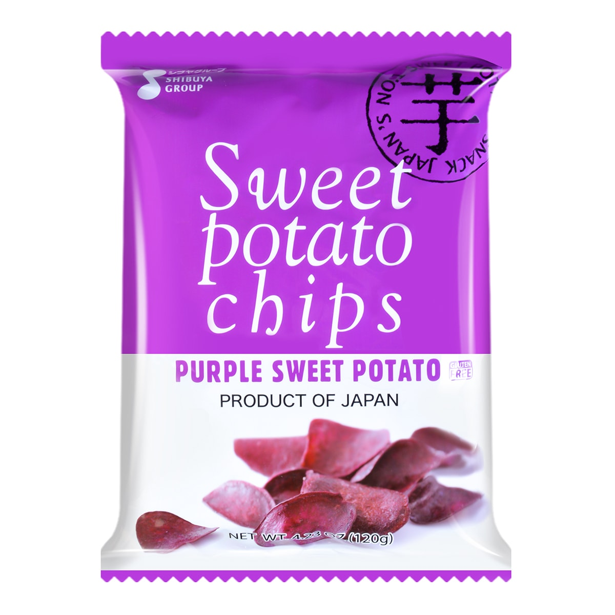 SHIBUYA Leisure Sweet Purple Yam Chips 120g