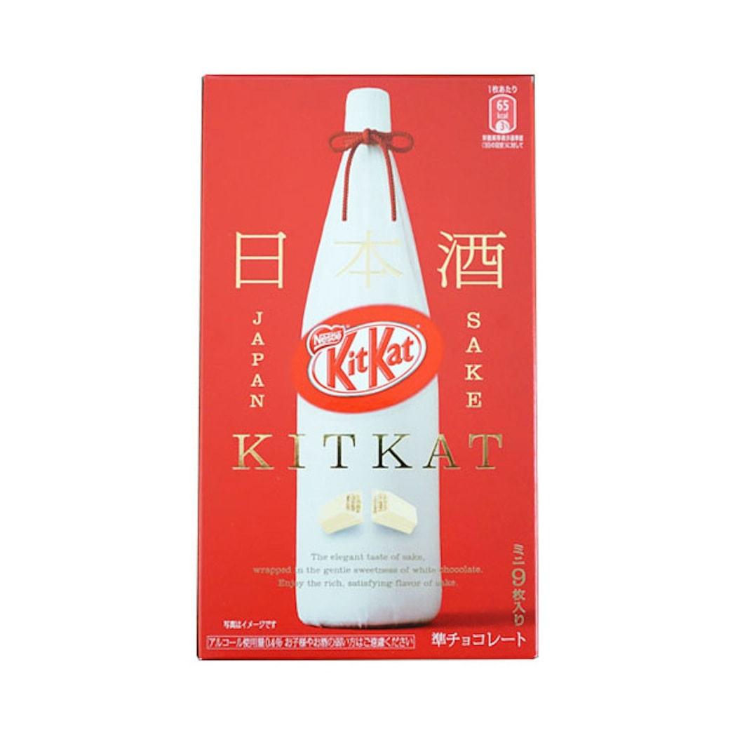 KIT KAT Sake Flavor Chocolate Wafer 9pc
