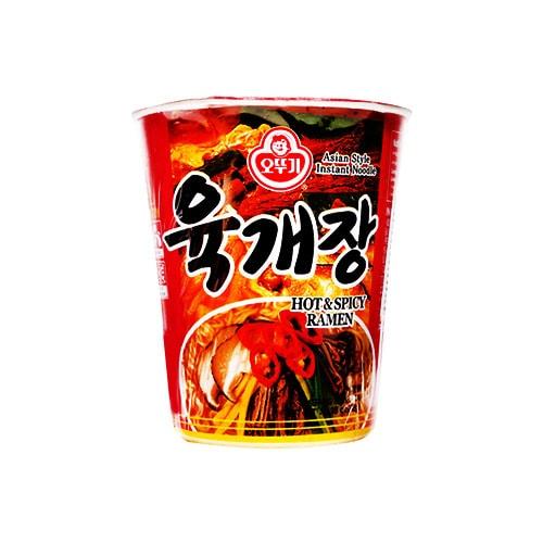 韩国OTTOGI不倒翁 辛辣味拉面 杯面  62g