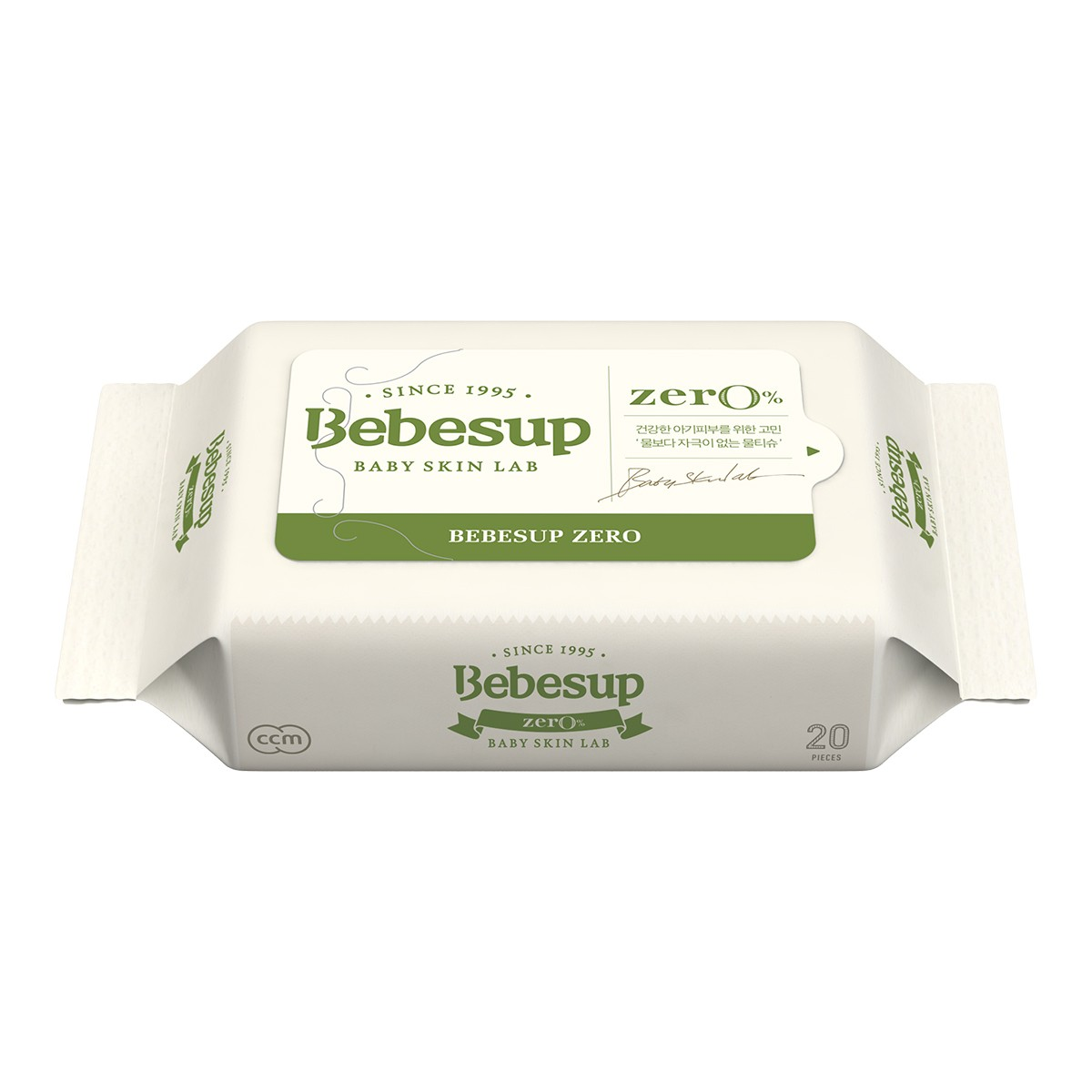 BEBESUP Baby Wipes Zero Travel Size 20sheets