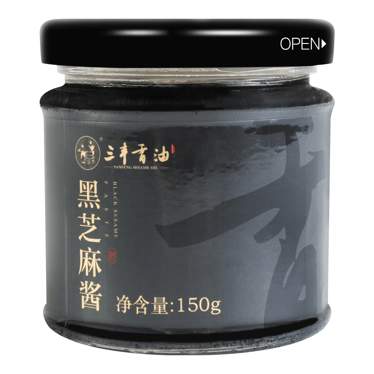 SANFENG SESAME OIL Black Sesame Paste 150g