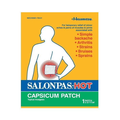 Salonpas - Hot (Capsicum Patch) 1 sheet