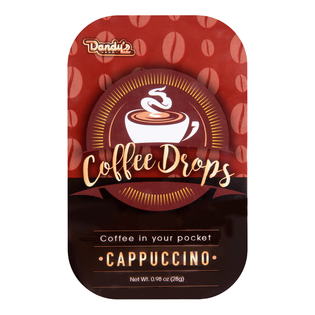 DANDY Coffee Drops-Cappuccino 28g